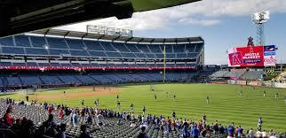 Anaheim Angels Stadium Seating Chart Angel Stadium Section 229 Rateyourseats Com