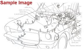 1964 mustang wiring diagrams factory manual ford motor company sample image from one of the manuals