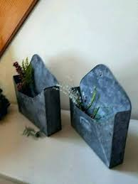 galvanized wall file galvanized wall pocket galvanized wall pocket galvanized wall pocket planters galvanized wall planter
