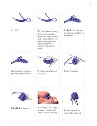 Crochet Patterns For Beginners Step By Step Awesome Crochet Hair Clip Pattern Step By Step Yarn Twist