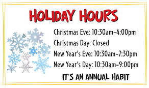 office will be closed sign template template christmas closed sign template