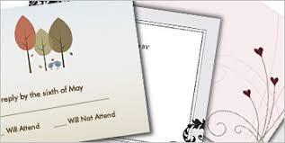 plain rsvp cards wedding stationery vistaprint