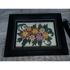 Paper Quilling Flower Frames Buy Paper Quilling Wall Frame Online Get 40 Off