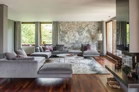 Wohnwände sind wahre stauwunder, die einem wohnzimmer seinen look verleihen. 75 Wohnzimmer Mit Dunklem Holzboden Ideen Bilder Dezember 2020 Houzz De