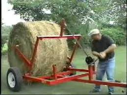 QuikRoll The bale unroller dolly | hay bale carts in 2019 | Farm ...
