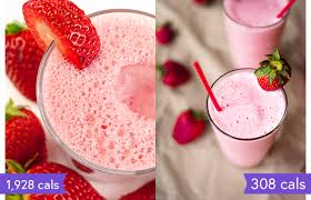 how to make a healthier smoothie king the hulk strawberry