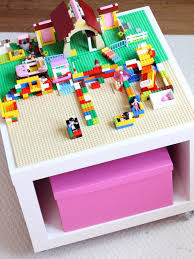 They made one for each child, which is a great idea. 10 Cool Diy Lego Tables From Ikea Supplies Shelterness
