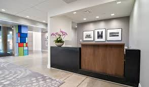 office reception office reception area. Grey Carpet And Black Desk For Elegant Office Reception Area Design With White Interior Color O