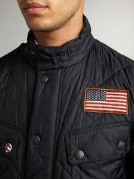 Lyst - Barbour Quilted Steve Mcqueen Jefferies Jacket in Blue for Men & Gallery Adamdwight.com