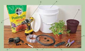 drip irrigation how to materials homegrown indoor garden