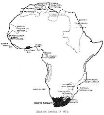 The development of colonialism in Africa  in fact  was a consequence of the  explorations  In the early decades of the nineteenth century  Africa was  not