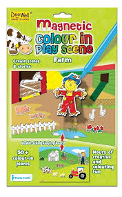 Doowell Activity Charts Doowell Activity Charts Magnetic Farm Colour In Play Scene
