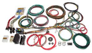 21 circuit customizable ford color coded chassis harness painless 1988 Ford Mustang Wiring Diagram at 1976 Mustang Wiring Harness
