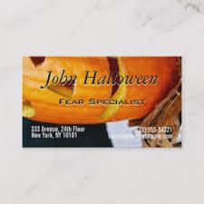 Halloween Business Cards Scary Halloween Business Cards Business Card Printing Zazzle