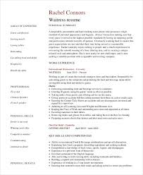 Bartender Resume - 8+ Free Sample, Example, Format | Free & Premium ...
