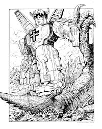 Voltron Coloring Pages - FunyColoring
