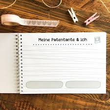 Mintkind Erinnerungsbuch Ich Und Meine Patentante