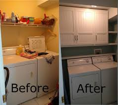 laundry room wall cabinet and floating