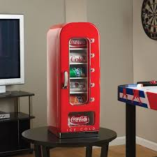 Retro Soda Vending Machine New The Koolatron Vending Machine Fridge StrictlyManCave