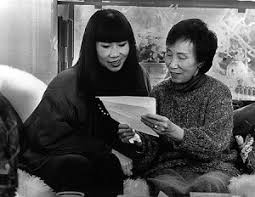 professor k s engh blog a gathering place for all things   a photograph of amy tan and her mother