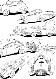 Small Picture Cars 2 Coloring Pages for Kids