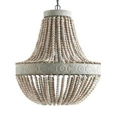 beaded light fixture wooden bead chandelier fixtures wood lighting s nj