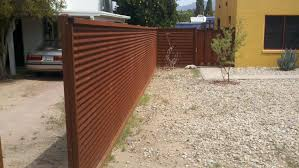 corrugated steel fence and gates affordable fence gates full size