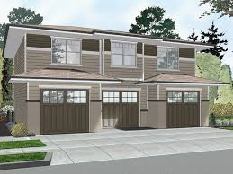 astonishing carriage house plans 3 car garage craftsman style plan with 4