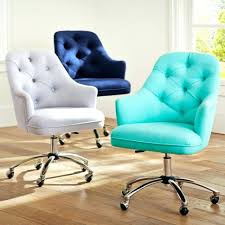 colored office chairs. Adorable Chair Office Computer With Cozy Leather Seating In Blue And White Color Desk Chairs For Teens Colored E