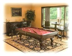 pool table rug rug under pool table size