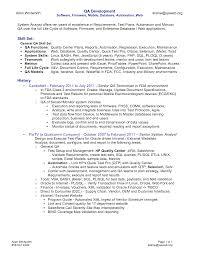 sample resume for qa testing resume samples writing sample resume for qa testing how to write a killer software testing qa resume that will