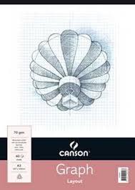 Canson Graph Paper Pad Art To Art Art Supplies