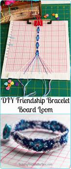 this loom for friendship bracelets is gentle on thread strands and helps you keep trqack of
