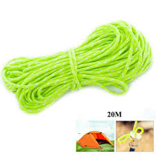 Mounchain <b>20M</b>/Roll <b>Tent Reflective Line</b> Outdoor Camping ...