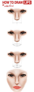 how to draw eyes nose lips by walterleonard