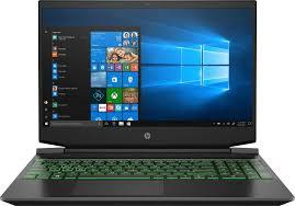 <b>Ноутбук HP Pavilion</b> Gaming <b>15</b>-<b>dk1012ur</b> black — купить по ...