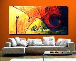 large canvas painting large wall art canvas large wall paintings for living room orange inexpensive huge