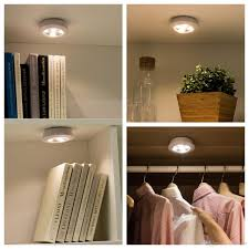 best closet lighting. Lighting : Best Misso Stick On Portable Wireless Remote Control Puck Light Enchanting Battery Operated Closet Lights Pull String With Powered Led Motion I