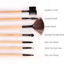 stock clearance brush powder mc concealer makeup brushes 24pcs good feedback make up tools kit brushes in eye shadow applicator from beauty