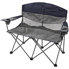 maccabee folding double camp chair