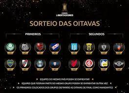 Libertadores: entenda o sorteio das oitavas de final