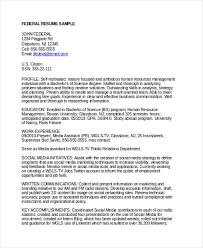 Gallery Of Federal Resume Example 2016 2017 Resume 2016 Examples