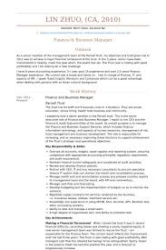 Business Manager Resume samples - VisualCV resume samples database