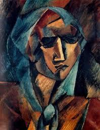 geroges braque head of a woman 1909 oil on canvas musée d art moderne de la ville del paris georges braque canvases oil and woman