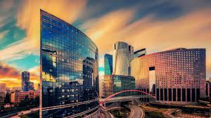modern office hq wallpapers. Modern Office Buildings Paris Streets Bridge Pictures - 1920x1200 Hq Wallpapers