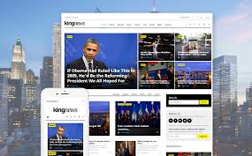 Wordpress Template Newspaper Kingnews Magazine News Portal Blog Wordpress Theme