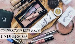 complete makeup kit. creating a complete, quality makeup kit for under $160 | mariah leonard - youtube complete