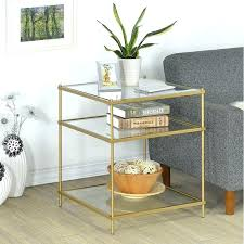 gold and glass end table type accent tables features includes hardware material metal coffee rectangle
