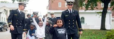 Naval Academy Midshipmen To Participate In Community Service