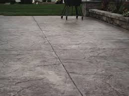 stamped concrete and expansion joints poured concrete patio natural looking s42 patio